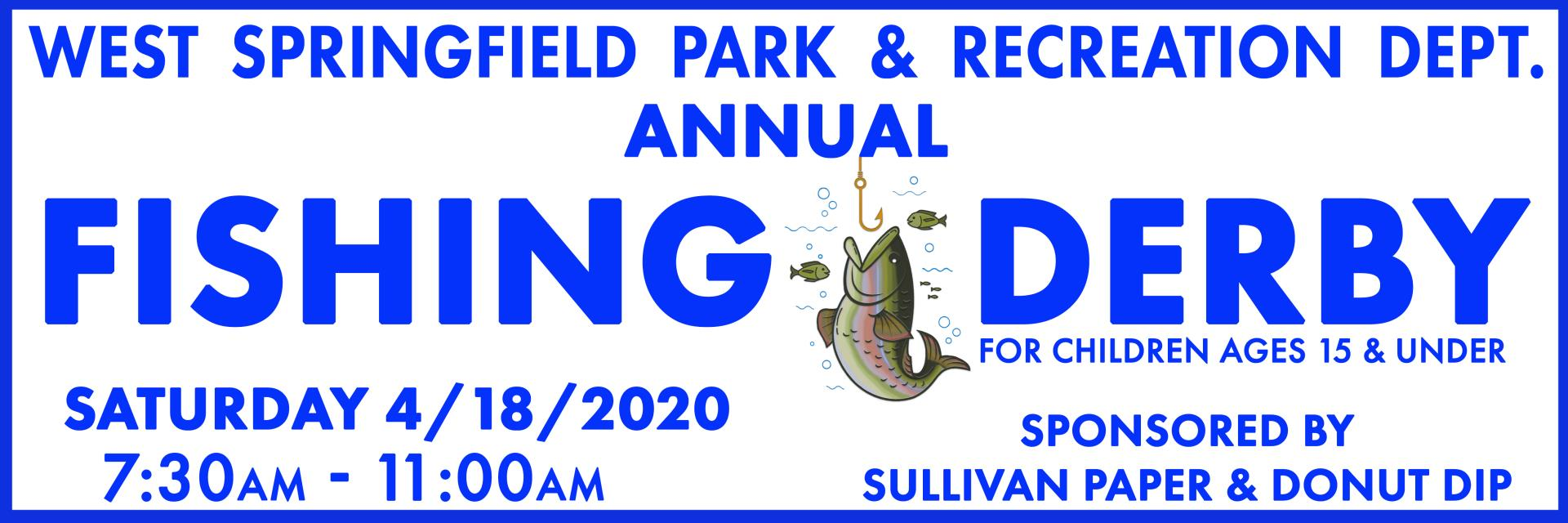 Fishing Derby Banner 2020