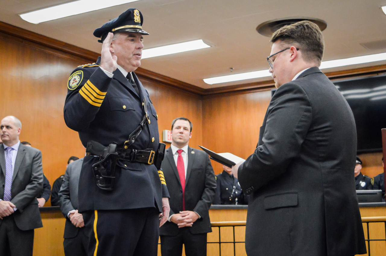 West Springfield swears in a new Chief of Police